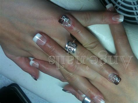 Modele Ongle Chablon by Ange Nails