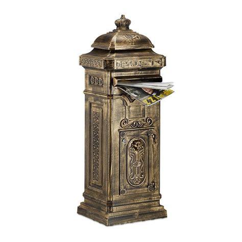 cassetta postale inglese cassetta postale da esterno stile inglese antico