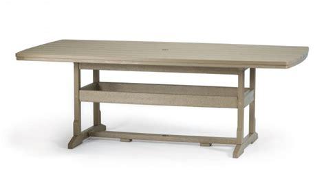breezesta 42 x 84 inch rectangular dining table
