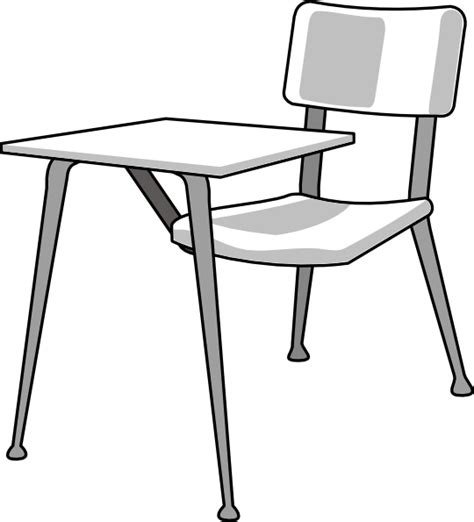 Furniture School Desk Clip Art At Clker Com Vector Clip Student In Desk Clipart