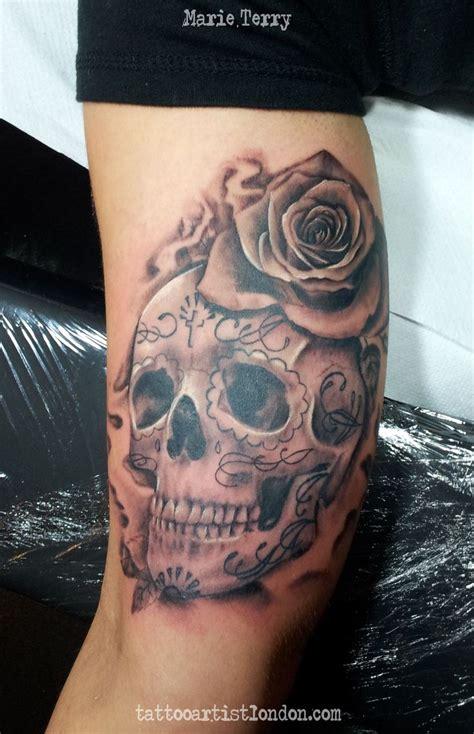 skull tattoo guy 17 best ideas about sugar skull tattoos on