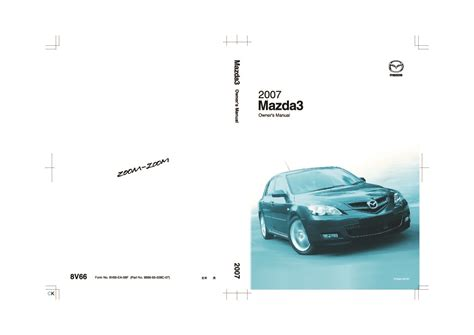 car repair manual download 2007 mazda mazda3 on board diagnostic system 2007 mazda 3 owners manual