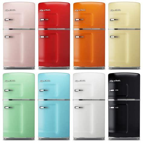 kitchen appliances colors 3d big chill fridge model