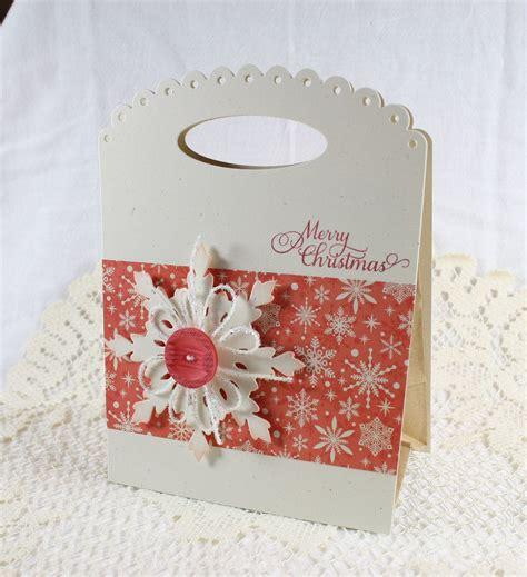 handmade gift bag merry christmas   endlessinkhandmade halloween cards handmade handmade