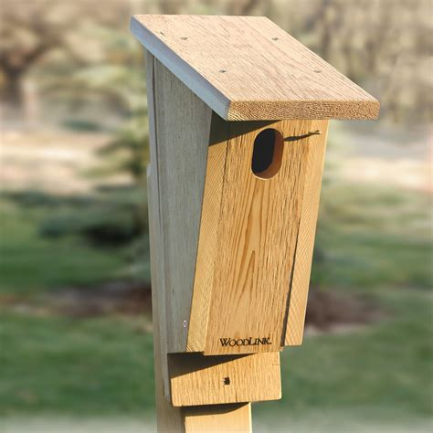 woodlink bb2 sloped front bluebird house atg stores