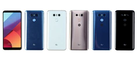 Lg G6 New Segel Black lg has announced g6 and the firmware update g6 gadgets f