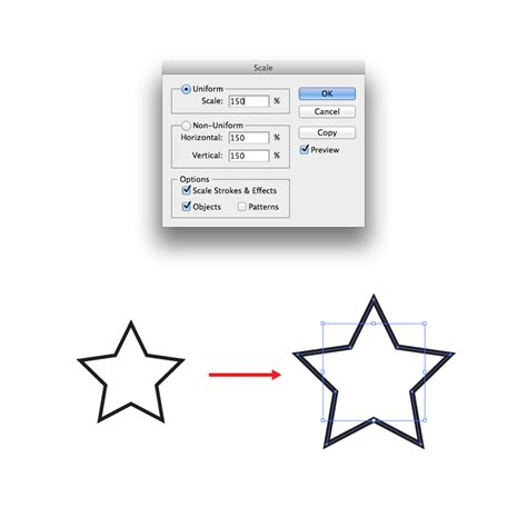 scale pattern in illustrator scaling patterns strokes and effects in illustrator