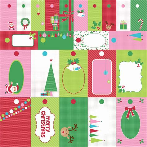 Pre Punched Craft Paper - gift tags mint twist perforated with pre punched holes