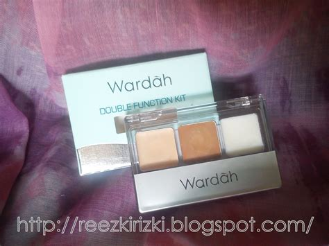 Wardah Concealer reezki s review wardah function kit
