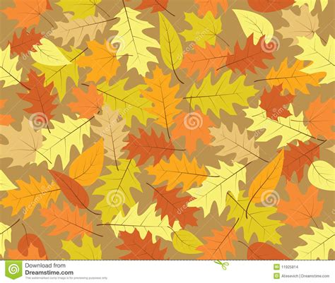 autumn seamless background fall colours stock images