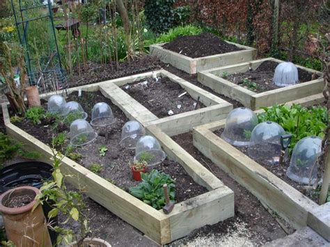 raised veg beds railway sleepers raised vegetable beds from new