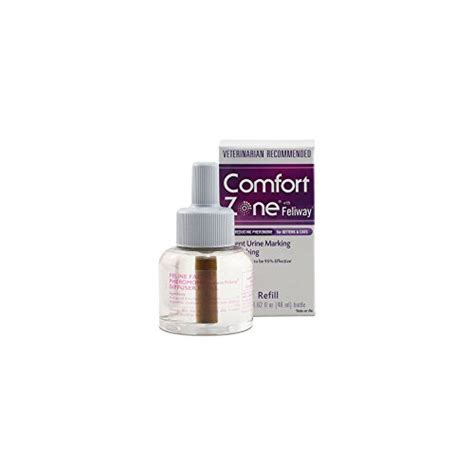 comfort zone plug in comfort zone feliway diffuser refills for cat calming new