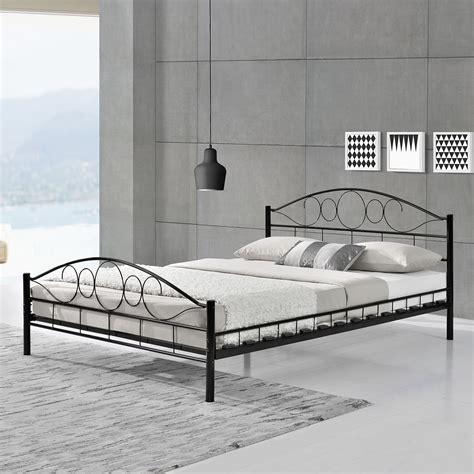 bett neu kaufen metallbett bettgestell doppelbett bettrahmen mit