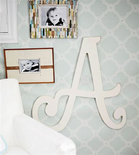 25 best ideas about large wooden letters on
