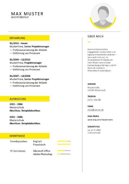 Lebenslauf Muster Word Datei lebenslauf vorlage pdf datei bewerbung deckblatt 2018