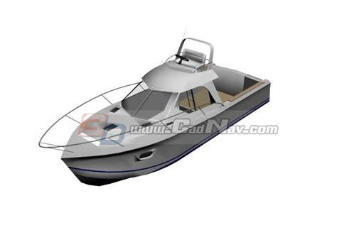 3d boat cabin boat fishing boat 3d model 3dmax files free download