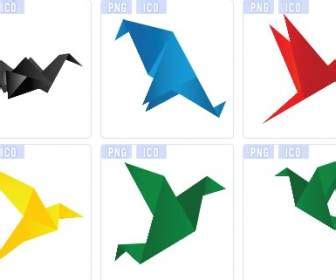 Kinds Of Origami Paper - scaricare gratis vector psd photos font footage sito