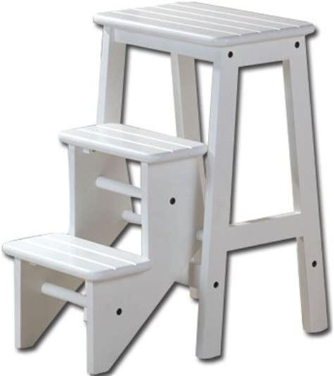 Boraam Industries Folding Step Stool by Boraam 36324 Folding Step Stool 24 Inch White Furniture