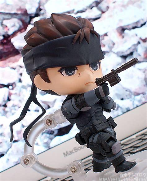 Dpk093 Nendoroid Metal Gear Soloid Solid Snake nendoroid solid snake kahotan s smile