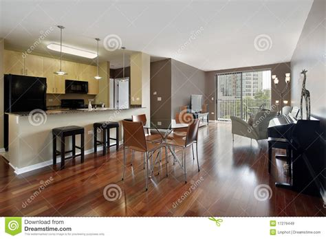 condo with open floor plan royalty free stock images image 17279449