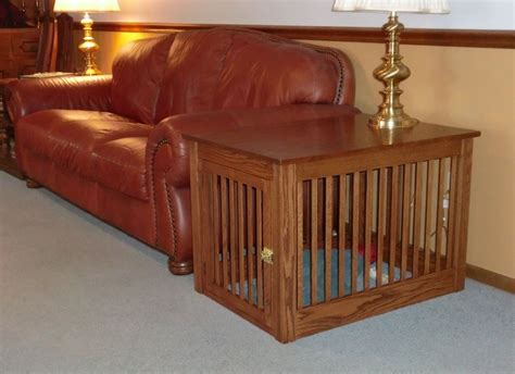 sofa table dog crate designer dog crates things you know about the dog crates