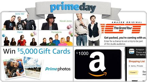 Amazon Prime Day Giveaway - roundup of 4 amazon prime day sweepstakes you can enter
