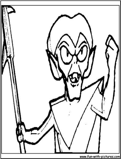 space ghost coloring pages creature king spaceghost coloring page