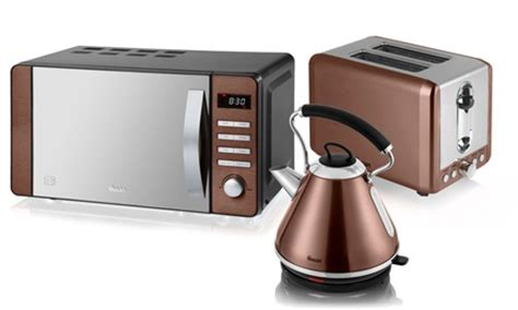 Argos Kettle And Toaster Set Swan Copper Kitchen Appliance Set Groupon