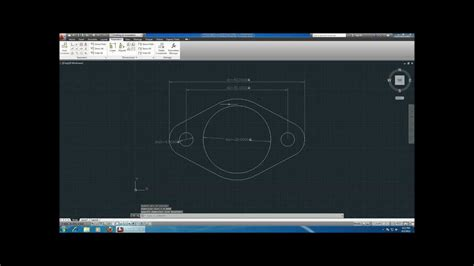 autocad tutorial trim command autocad 2013 tutorial cool gasket tangent and trim