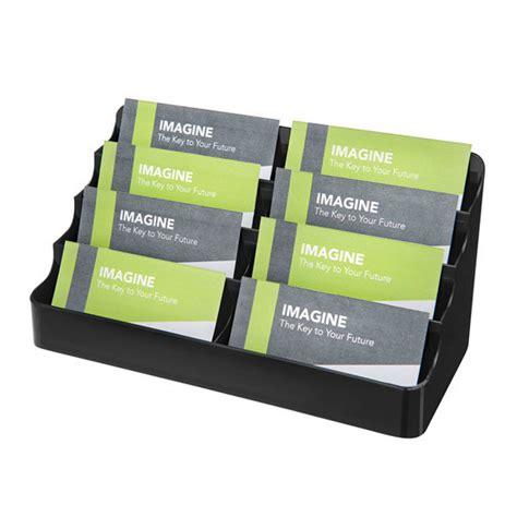 Name Card Box Deflecto Deflecto Slimline Business Card Box Black Jpm