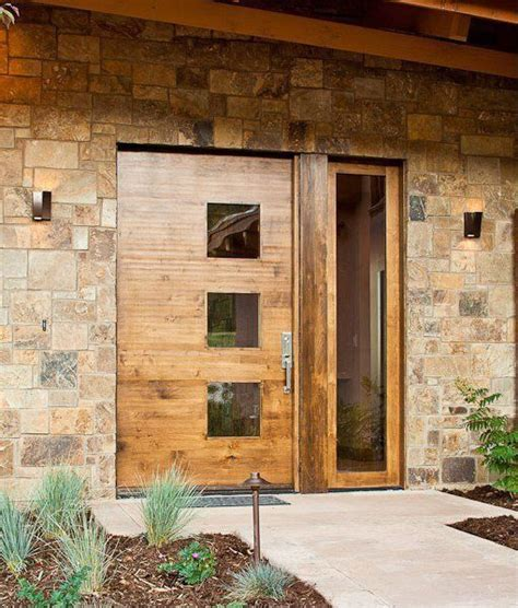 28 Beautiful Glass Front Doors For Your Entry Shelterness Wood Front Doors With Glass