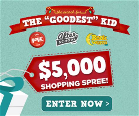 Enter To Win A 5000 Glamcom Shopping Spree by The Goodest Kid Sweepstakes 5 000 Grand Prize A S