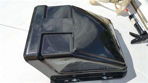 fan tastic ultrabreeze vent cover fan tastic vent ultra breeze trailer roof vent cover 23