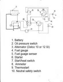 4 best images of massey ferguson wiring diagram pdf massey ferguson alternator wiring diagram