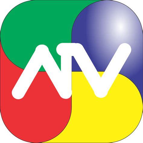 atv logo animacion grafica logo de atv