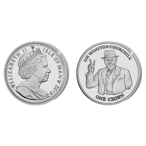 The 2015 Sir Winston Churchill Silver Coin   Island Stamps