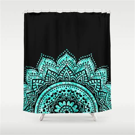 black and blue shower curtain best 25 teal shower curtains ideas on pinterest teal