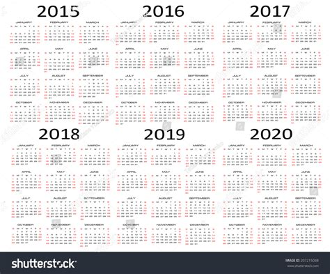 Mayan Calendar 2019 3 Year Calendar 2016 2019 Calendar Template 2016