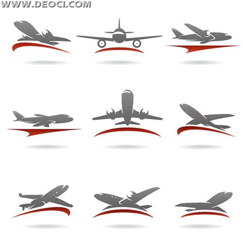logo aviation aircraft design templates deoci com