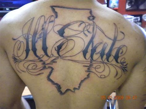 ill state illinois tattoo