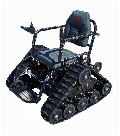 Cool Wheel Chair Action Trackchair Is An All Terrain Wheelchair