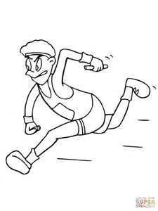 coloring pages of a running running coloring pages coloring pages
