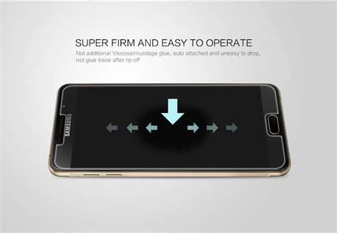 Samsung A7100 A710f Qin Leather Nillkin Unq nillkin amazing h pro tempered glass screen protector for