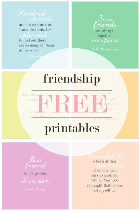 printable quotes on friendship printable friendship quotes quotesgram