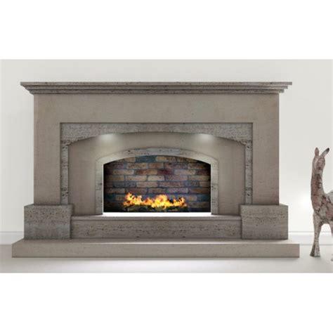travertine fireplace oviedo travertine and limestone fireplace