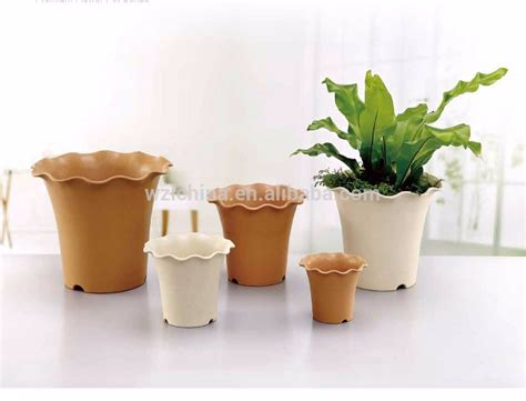 Cheap Flower Planters by Garden Decoration Plastic Flower Pots Cheap Flowerpot