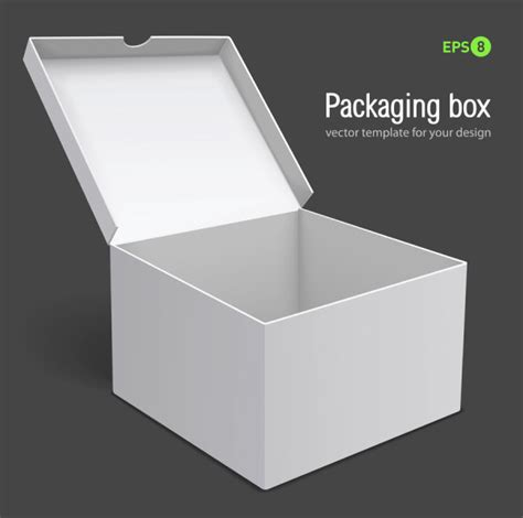 packaging box design templates vector sources
