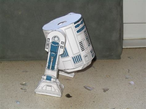 R2d2 Papercraft - paper craft new 468 r2d2 papercraft
