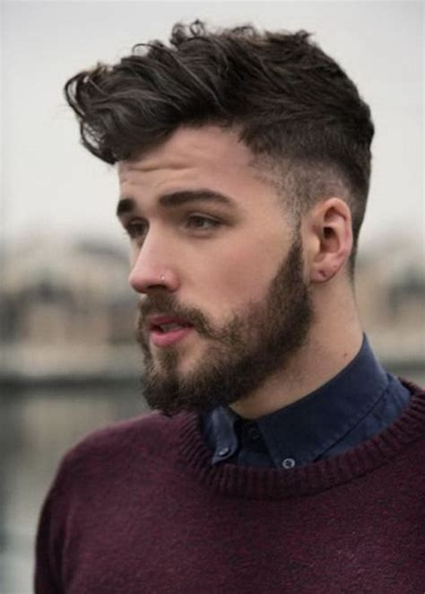 haircuts and beards 2015 top mens hairstyles with beards cool mens haircuts side