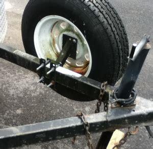 boat trailer tire balance homemade trailer spare tire mount homemadetools net